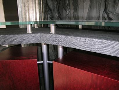 Brocatelle traditional stone - Restaurant confluence domo ...